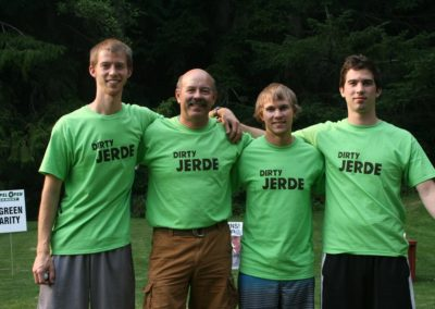 2015 Award for Best Dressed Team goes to Dirty Jerde!